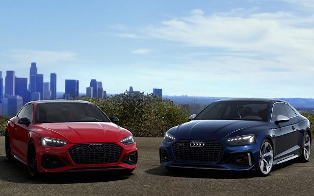 Audi RS5 2021 têm facelift e mais tecnologia para América