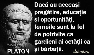 Platon despre femei