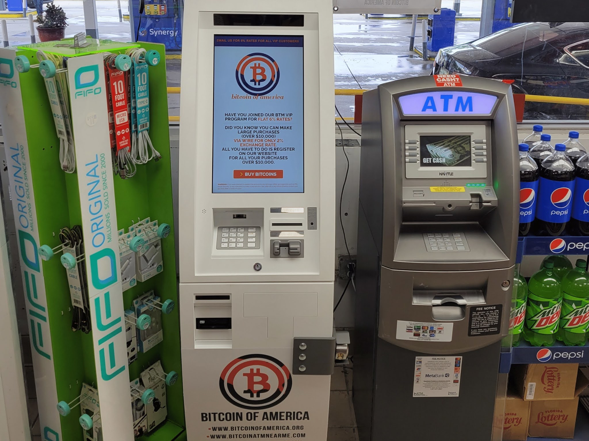 Bitcoin of America Adds Ethereum to their Bitcoin ATMs
