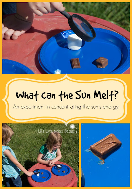What can the Sun Melt? An Experiment in Concentrating the Sun's Energy