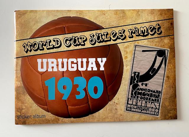 Album figurine Uruguay 1930
