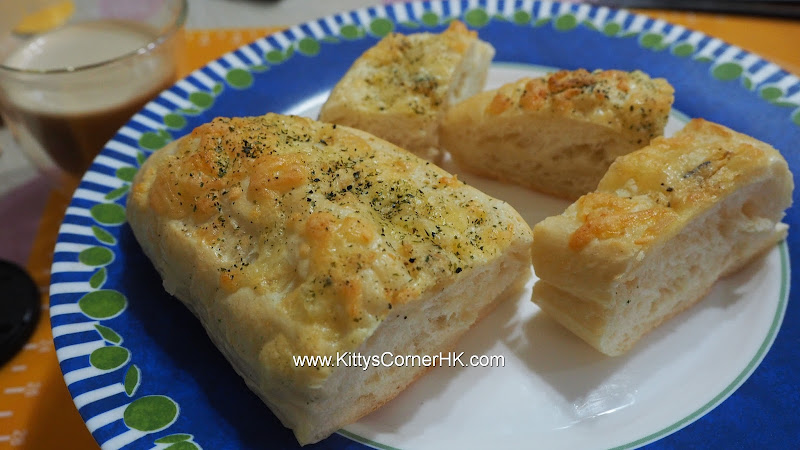 Cheese Garlic with Seaweed Bread 芝士蒜蓉海苔麵包 自家烘焙 食譜 home baking recipes 自家烘焙 食譜 home baking recipes
