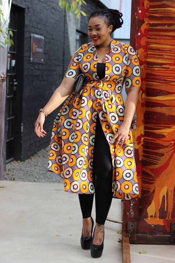 29+ Latest Kitenge Styles Attires For African plus size ...