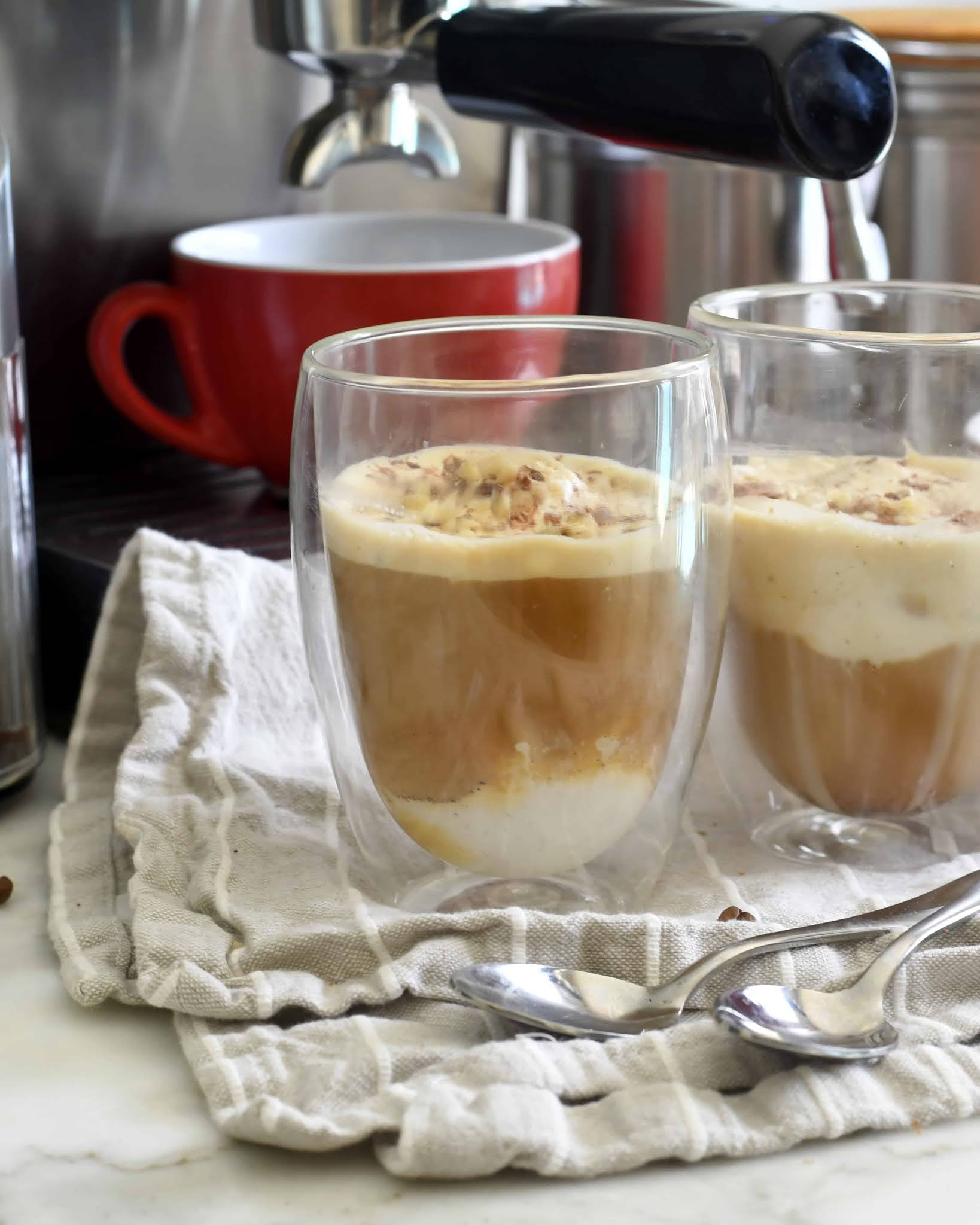 Classic Italian Affogato al Caffe'