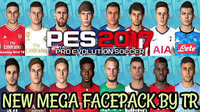 PES 2017 New Megafacepack +620 Faces
