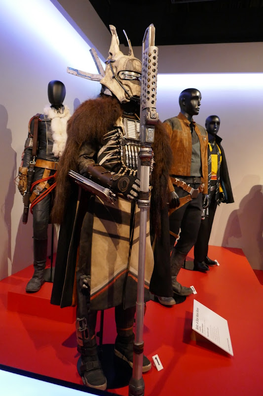 Solo Star Wars Story movie costumes