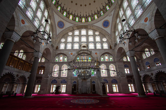 Moschea del Sultano Mihrimah (Mihrimah Sultan Camii)-Istanbul