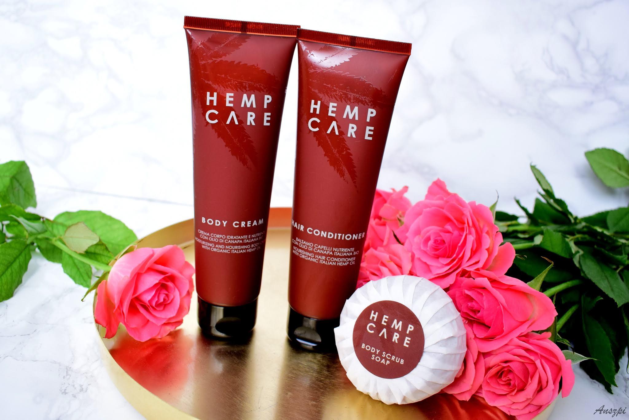 Hemp Care- pielęgnacja kosmetykami z olejem konpnym