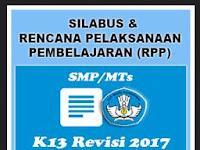 Rpp SMP Kurikulum 2013 revisi 2017
