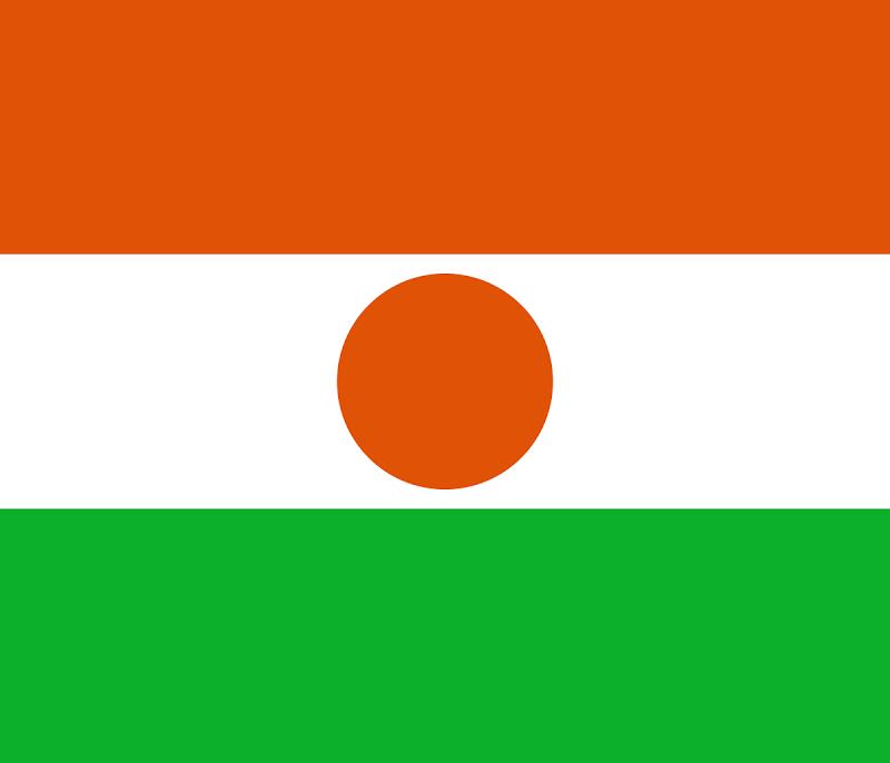 Logo Gambar Bendera Negara Niger PNG JPG ukuran 800 px