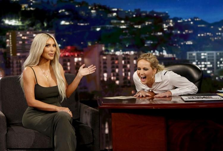 Jennifer lawrence's epic interview with kim kardashian