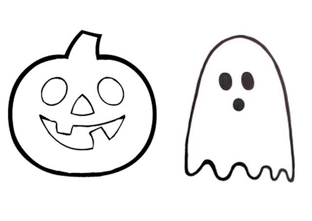 Gabarits à découper pour sablés d'Halloween