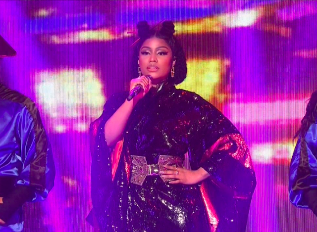Nicki Minaj performs 'Chun-Li' and 'Poke It Out' on 'SNL' + watch her unaired 'Friendship Song' sketch