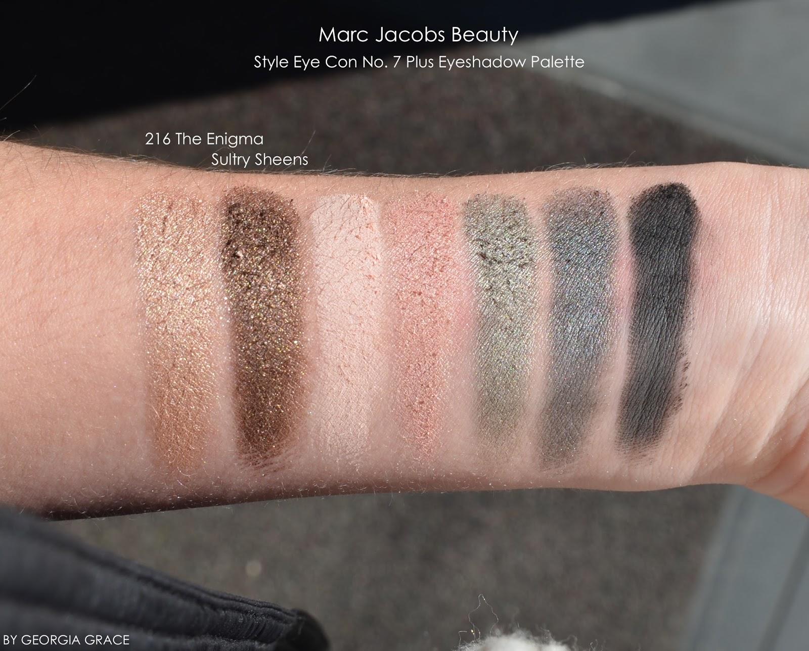 Marc Jacobs Style Eye-Con No. 7 Plush Eyeshadow Palettes ...