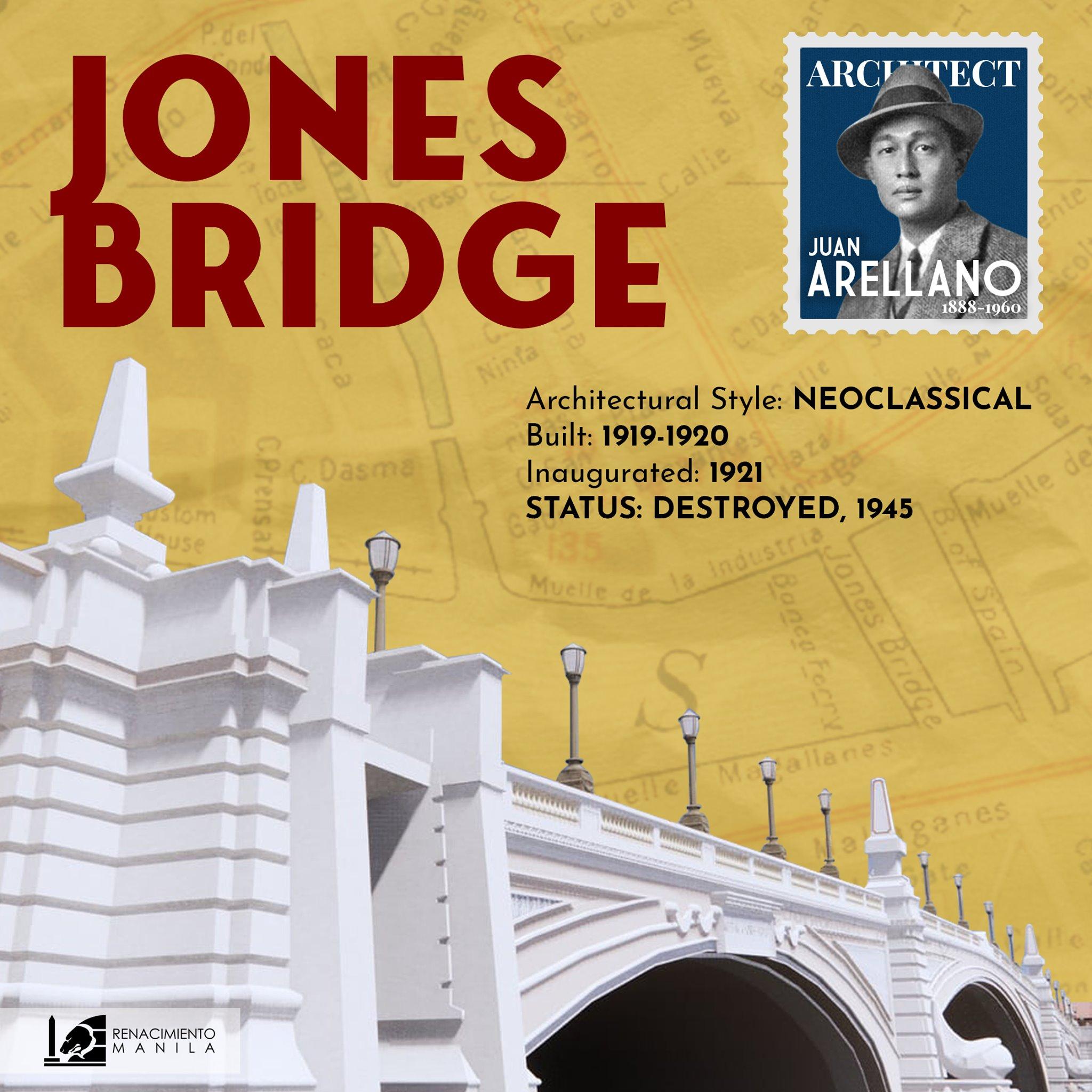 Jones Bridge - Juan Arellano (1888-1960)