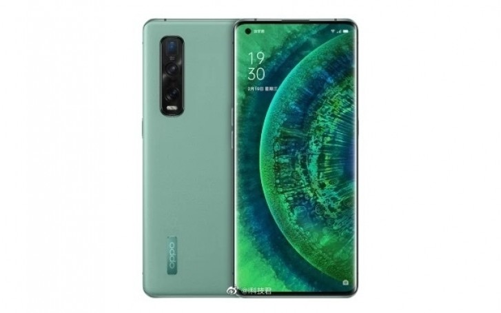 اللون الاخضر من هاتف Oppo Find X2 متوفر في الصين