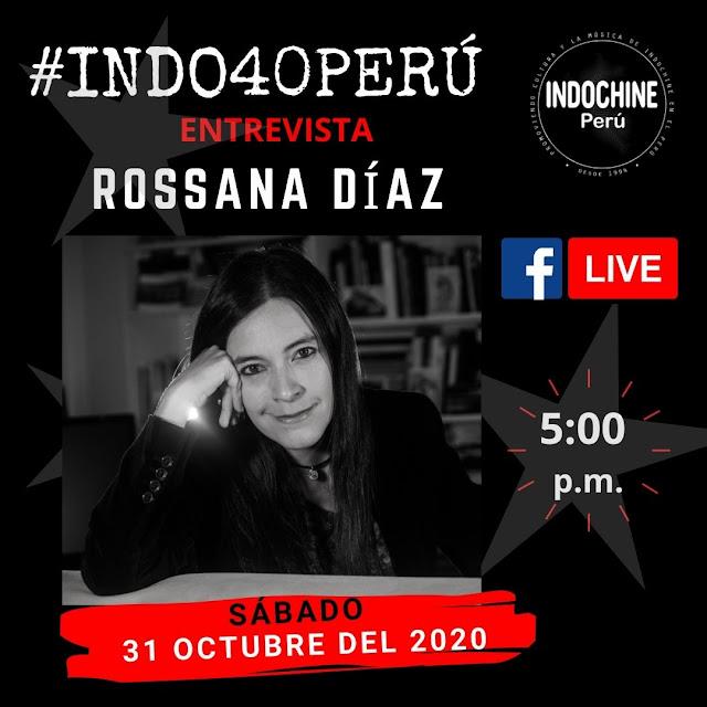 #INDO40PERU - Entrevista a Rossa Díaz