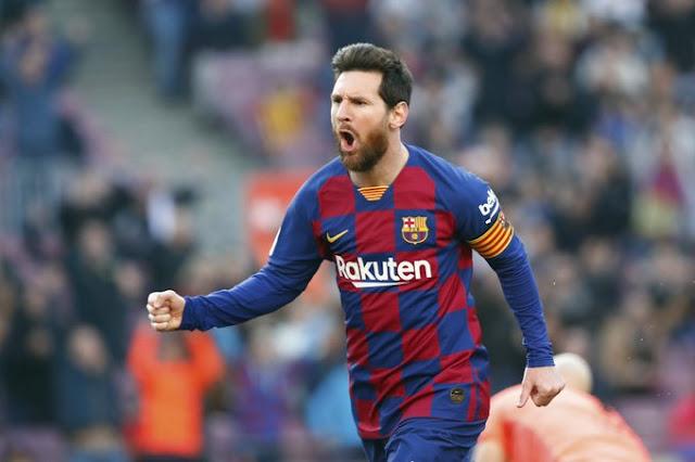 ميسي يقود برشلونة لفوز كاسح على إيبار