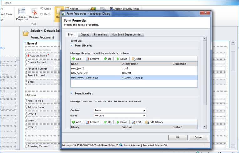 How to load a web resource using Java Script | Microsoft Dynamics