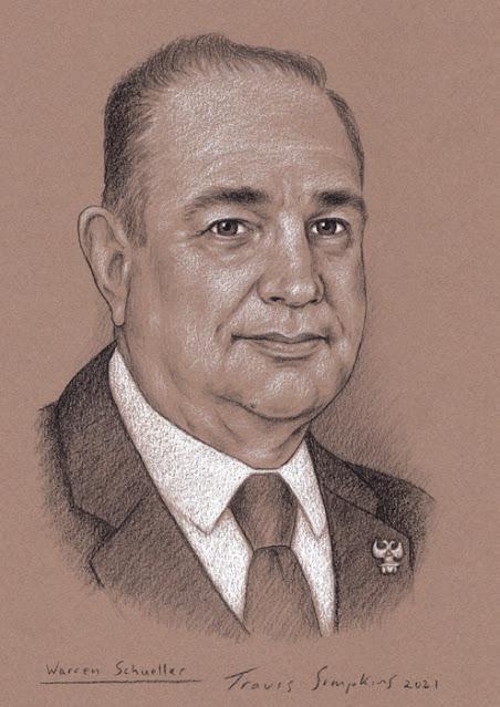 Warren Schueller, 33°. Supreme Council. Scottish Rite, NMJ. by Travis Simpkins