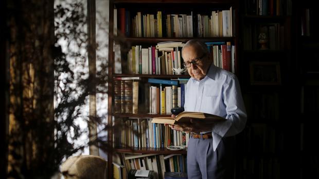 Pablo García Baena en la BUMU.