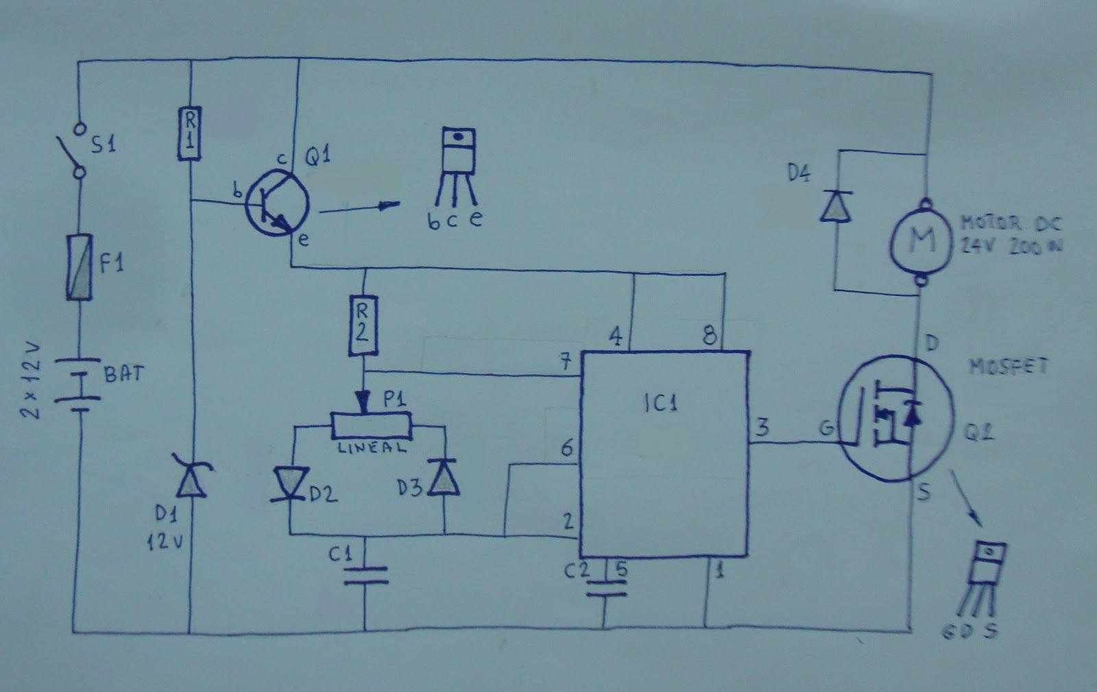 Circuito Variador De Frecuencia : Ciencia inventos y experimentos en casa: regulador de potencia para
