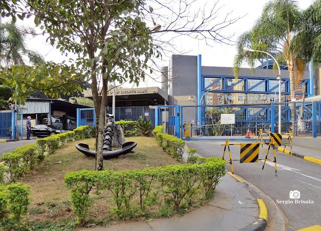 Vista da entrada do Comando do 8º Distrito Naval - São Paulo