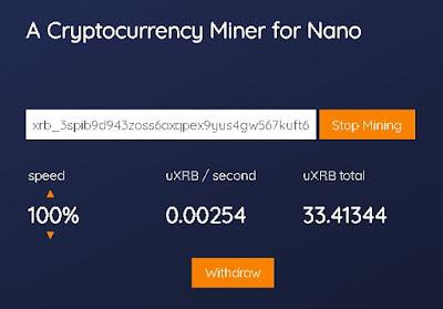 Nano Miner Aplikasi Mining Bitcoin Gratis Menggunakan Smartphone / PC / Laptop