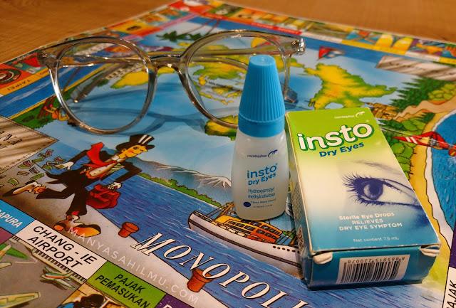 Pengalaman Mengatasi Mata Kering Bersama Insto Dry Eyes