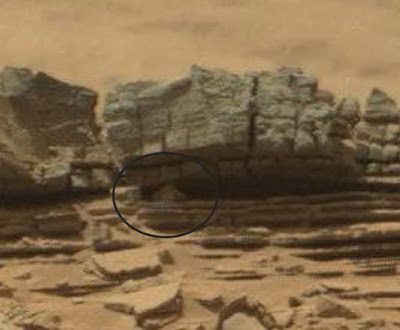 Astaga, Kepiting Raksasa Terpotret Di Bebatuan Mars