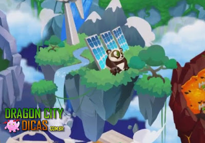 Ilha Panda - Dragon City