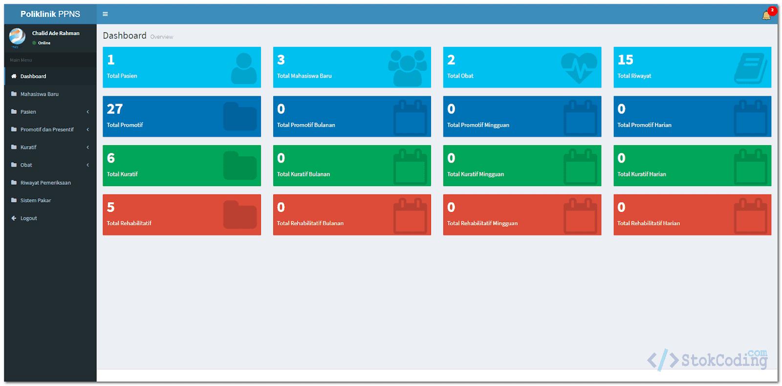 Aplikasi Poliklinik Berbasis Web (PHP)