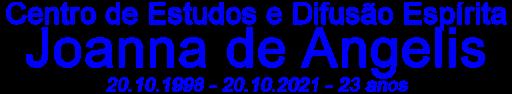 Centro de Estudos e Difusão Espírita Joanna de Angelis - CEDE