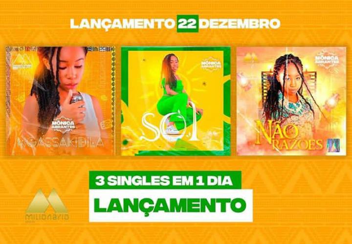 """Mônica Abrantes retoma à sua clássica sonoridade com três novas músicas """"Ngassakidila, Sol e Não há razões"""""""