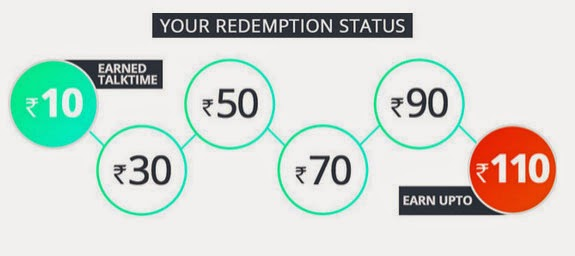 Gaana app get free Rs100 Recharge login using Google account