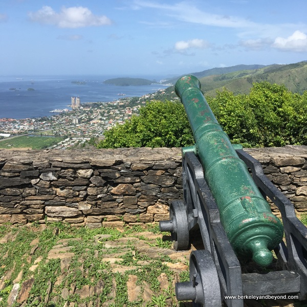 cannon at Fort George in Port of Spain, Trinidad