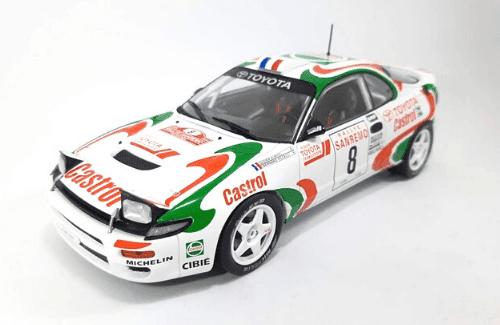 WRC collection 1:24 salvat españa, Toyota Celica Turbo 4WD 1:24