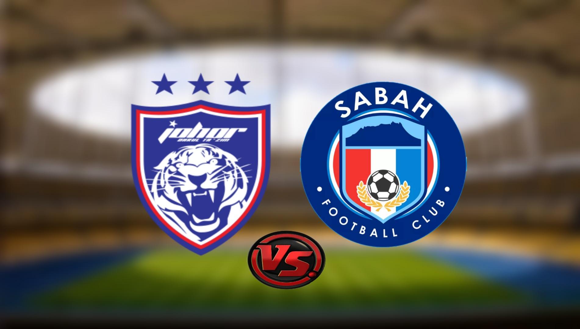 Live Streaming JDT FC vs Sabah FC Liga Super 8.8.2021