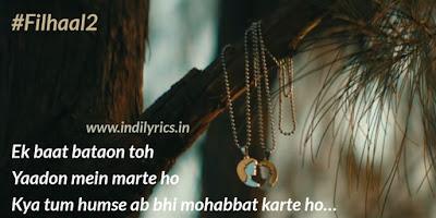 Filhaal 2 quotes pics | B Praak | Lyrics | Images