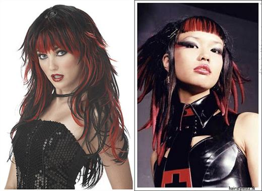 nice long hairstyles gothic