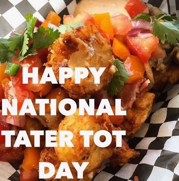 National Tater Tot Day Wishes for Instagram