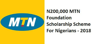 Image for MTN Foundation Scholarship Scheme