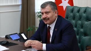 حصيلة جديدة للوفيات والإصابات بفايروس كورونا في تركيا