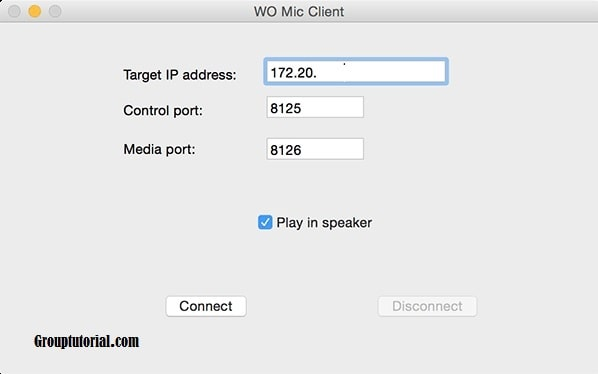 Jadikan Android sebagai Mikrofon di PC