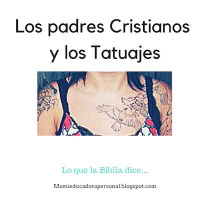 La practica de los tatuajes entre cristianos es cada vez mas común. Que dice la Biblila al recpecto.