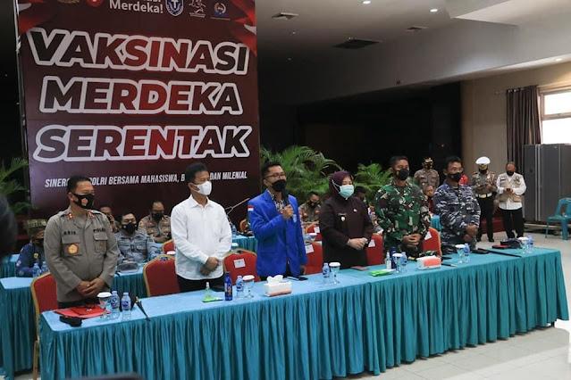 Capaian Vaksinasi Tinggi,  Presiden Jokowi Apresiasi Kepri Khususnya Kota Batam