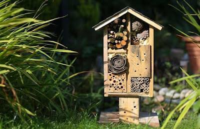 Aprenda a fazer um hotel para insetos