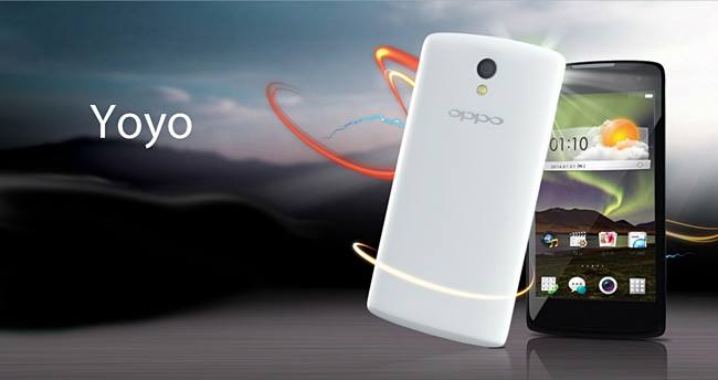 Oppo R2001 Yoyo Specifications - LAUNCH Announced 2014, May DISPLAY Type IPS LCD capacitive touchscreen, 16M colors Size 4.7 inches Resolution 540 x 960 pixels (~234 ppi pixel density) Multitouch Yes BODY Dimensions - Weight - SIM Dual SIM (dual stand-by) PLATFORM OS Android OS, v4.2.1 (Jelly Bean) CPU Quad-core 1.3 GHz Cortex-A7 Chipset Mediatek MT6582M GPU Mali-400MP2 MEMORY Card slot microSD, up to 32 GB (dedicated slot) Internal 4 GB, 1 GB RAM CAMERA Primary 5 MP, autofocus, LED flash Secondary 2 MP Features Geo-tagging Video 720p NETWORK Technology GSM / HSPA 2G bands GSM 850 / 900 / 1800 / 1900 - SIM 1 & SIM 2 3G bands HSDPA 2100 Speed HSPA 42.2/11.5 Mbps GPRS Yes EDGE Yes COMMS WLAN Wi-Fi 802.11 b/g/n, hotspot GPS GPS Yes, with A-GPS USB microUSB v2.0 Radio FM radio Bluetooth v2.1 FEATURES Sensors Accelerometer, proximity Messaging SMS (threaded view), MMS, Email, Push Email Browser HTML5 Java No SOUND Alert types Vibration; MP3, WAV ringtones Loudspeaker Yes 3.5mm jack Yes BATTERY  Removable Li-Ion 1900 mAh battery Stand-by Up to 350 h Talk time Up to 6 h Music play  MISC Colors White, Black  - MP4/H.264/FLAC player - MP3/eAAC+/WAV player - Document viewer - Photo viewer/editor - Voice memo/dial