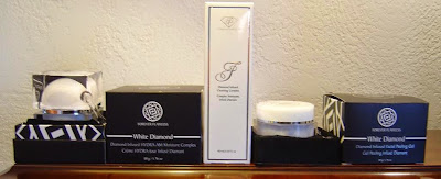 Forever Flawless White Diamond Skin Care products. jpeg