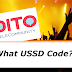 What is the USSD Code of Dito Telecom?
